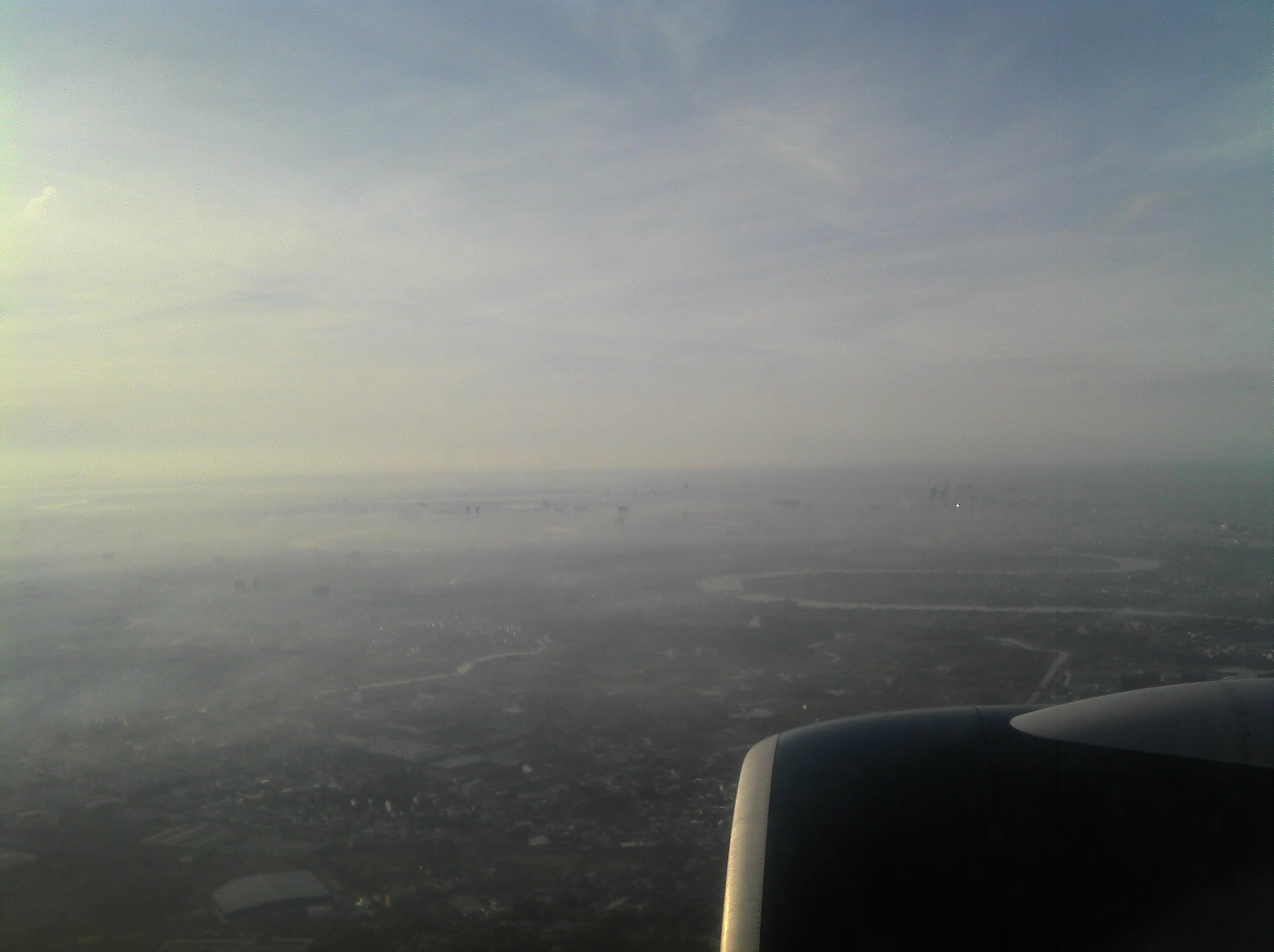 Saigon from the air