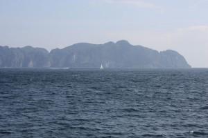 Koh Phi Phi from afar
