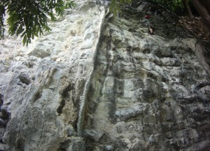 Base of the Tonsai Tower - quite a few nice routes